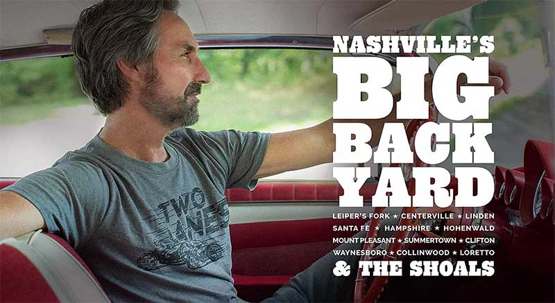 Mike Wolf is the spokesman for Nashville's Big Backyard